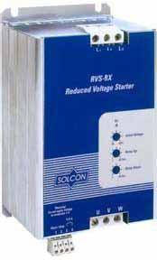 Выбор устройства плавного пуска RVS-BX.